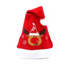 High Quality Christmas Cap Decorations Santa Christmas Hat for Gift