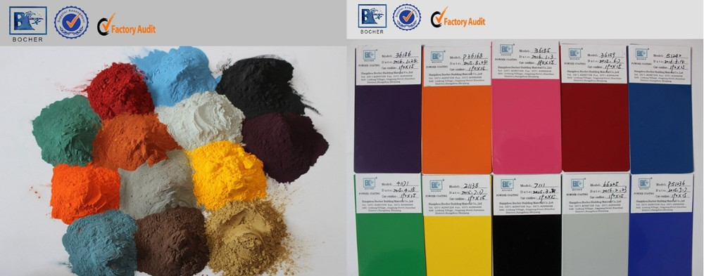 Hybrid epoxy polyester texture powder coating