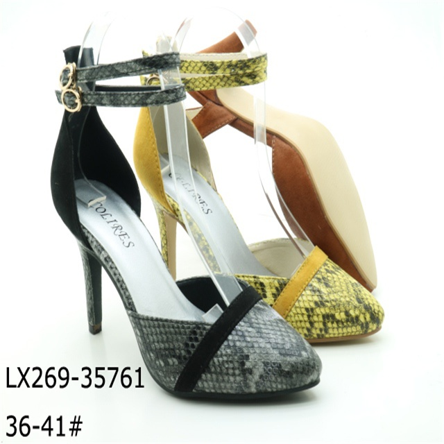 Ankle strap women high Heel Court Shoe