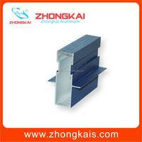 Corrosion Resistance Powder Coated Extruded Section In Aluminium Alloys For Horizontal Slider Window