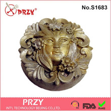 PRZY handmade siliocne soap mold /silicone mask mould for soap