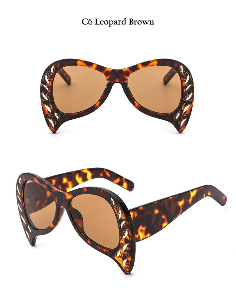 Rimless Cat Eye Sunglasses (18)