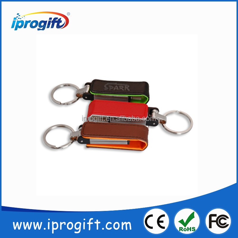 2016 HOT CHEAP Wholesale Promotional gift Customized logo Leather USB Flash Drive 1GB 2GB 4GB 8GB 16GB 32GB