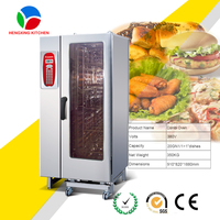20 Trays Roll In Commercial Steam Oven/Industrial Steam Oven/Electric Combi-steamer Oven