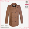 Manufaturer High Quality Stand Collar Long Sleeve Double-breasted Men Trench Coats