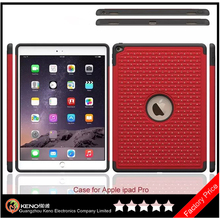 Keno Hybrid Studded Diamond Bling Case Cover for iPad Pro