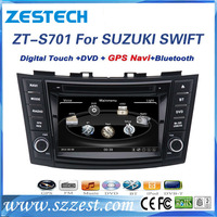 ZESTECH Best Price for suzuki swift car player with Radio GPS Ipod Bluetooth SWC Wifi PIP 3D UI