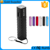 chinese promotional items ABS case aa battery power bank with led torch
