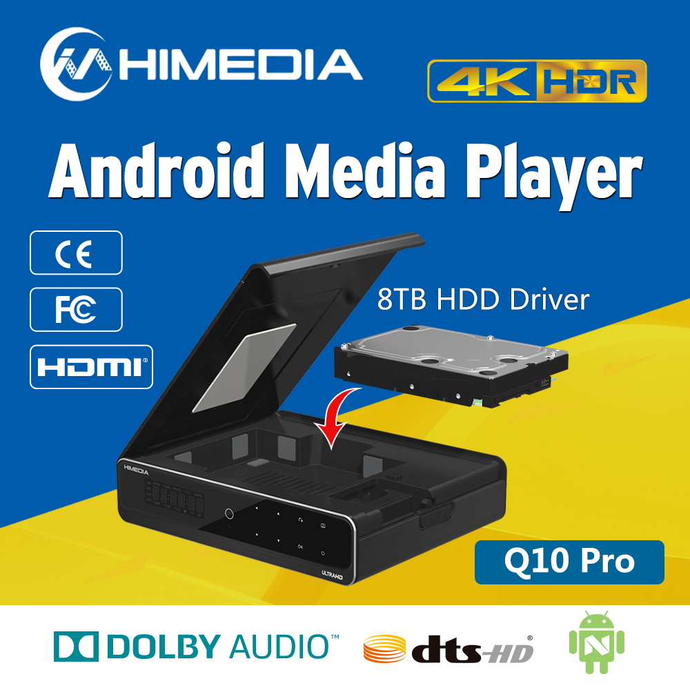 Himedia <strong>Q10</strong> Pro Hi3798CV200 Chipset Quad Core 4K International TV Box Best Set Top Box