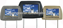 "7"" Headrest TFT LCD Monitor with pillow"