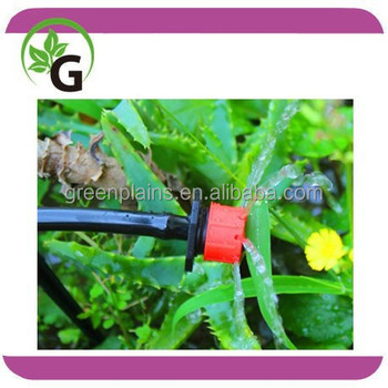 Irrigation adjustable dripper for water saving irrigation