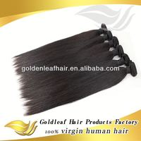 Factory price 5a natural virgin filipino straight hair