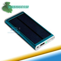 Gifts 2600mAh 0.8W Portable Solar Power for iPhone