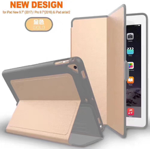 Hot Sale Five Color Leather Tablet Case Smart PU Cover Case with Auto Sleep & Awake Function Full Protective for iPad mini