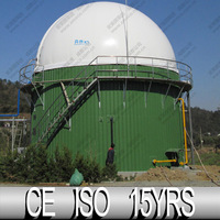 Professional Membrane Biogas Balloon, Double Membrane Balloon For Large Size Biogas Project