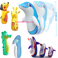 6 Ft Inflatable Kids Punching Boxing Bop Bag Toy alibaba supplier