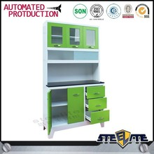 food storage mdf kitchen cabinet/small kitchen designs