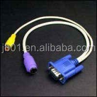 most popular hot sale rca to vga converter 15pin