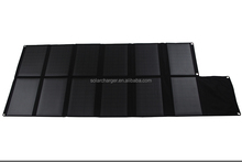 120W solar cells charge car battery and loptop