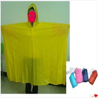 E-E38 Yellow EVA waterproof high quality bicycle poncho