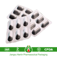 pharmaceutical printable blister packaging container aluminum foil