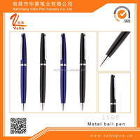 Black Blue Lacquer, Selectip Rolling Ball Pen, with Plated Appointments