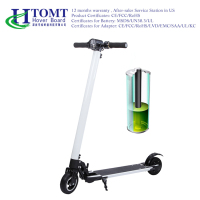 HTOMT Folding Small Mini Kick scooter Electric Portable foot scooter Mobility Scooter