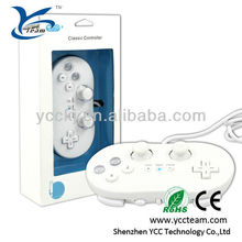 Classical gamepad/joystick/joypad/controller game accessories for wii video game with best quality and competitive price