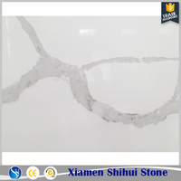 Marble Look Chinese Artificial Quartz Heat