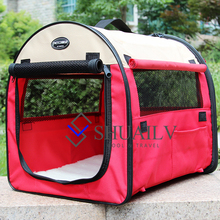 Dogs House Beds Oxford Portable Carriers Cages For Large Dogs Cats High Quality Pets Home Tents