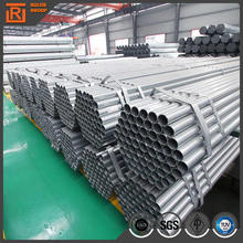 Tubular steel for building construction, water pipe hot dipped galvanized steel