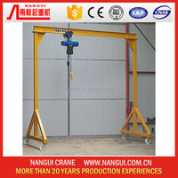 Manufacture of Mobile Mini Gantry Crane