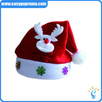 Customized Logo Promotional Christmas Hat Printing