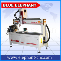 ELE 3012 Furniture making 4 axis cnc wood machine with rotary device