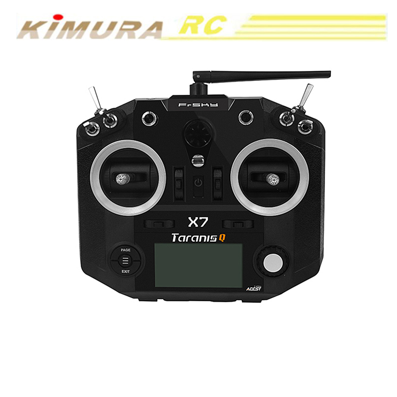 Newest FrSky ACCST Taranis <strong>Q</strong> X7 QX7 2.4GHz 16CH Transmitter Without Receiver For RC Multicopter