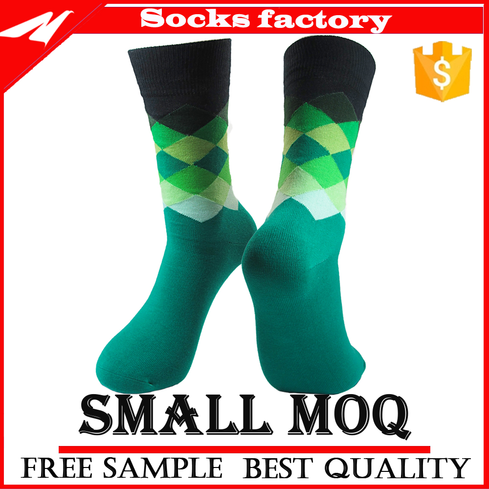Hot Selling Crew Novelty Design Cute Woman Cotton Dress Sock