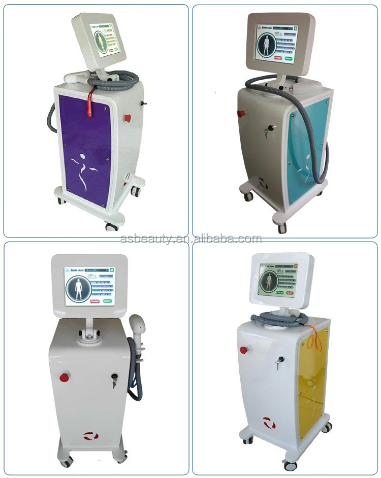 808nm diode laser permanent hair removal