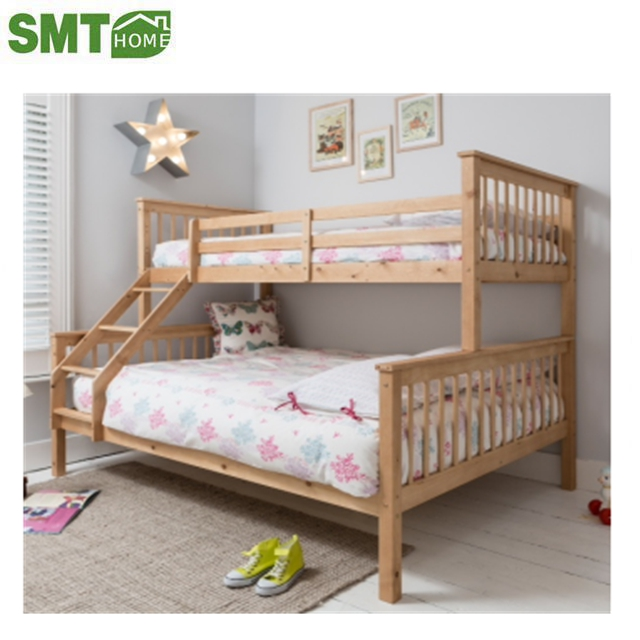 cheap price our China own factory bunk bed wooden type for sale