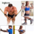 Latex Resistance Bands Body Muscle Workout Resistance Loop Exercise Bands