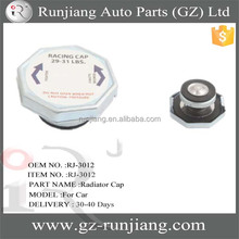 auto radiator cap sizes for auto car cooling system