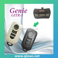 Universal key fob compatible with Genie rolling code grabber QN-RS283X