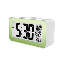 2017 Hot New Fashion Kid's Digital Alarm Clock with Nap Timer and Indoor Temperature electron gift LED
