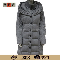 2015 russian winter coat for women/winter white wool coat