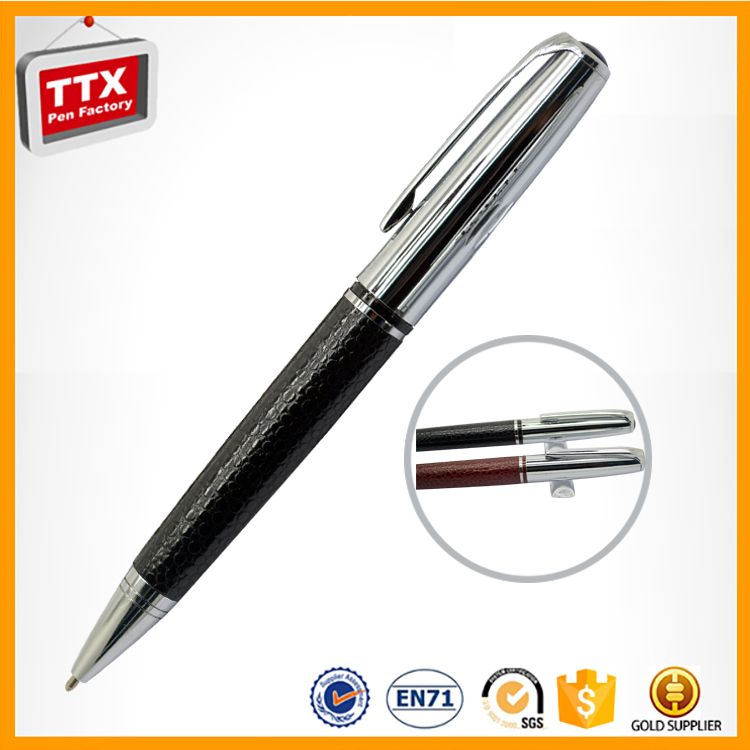 Hot selling promotional leather paint pens with popular design,leather marking pen,ttx leather
