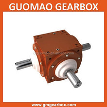 China Guomao 90 Degree Right Angle Spiral Bevel Gearbox