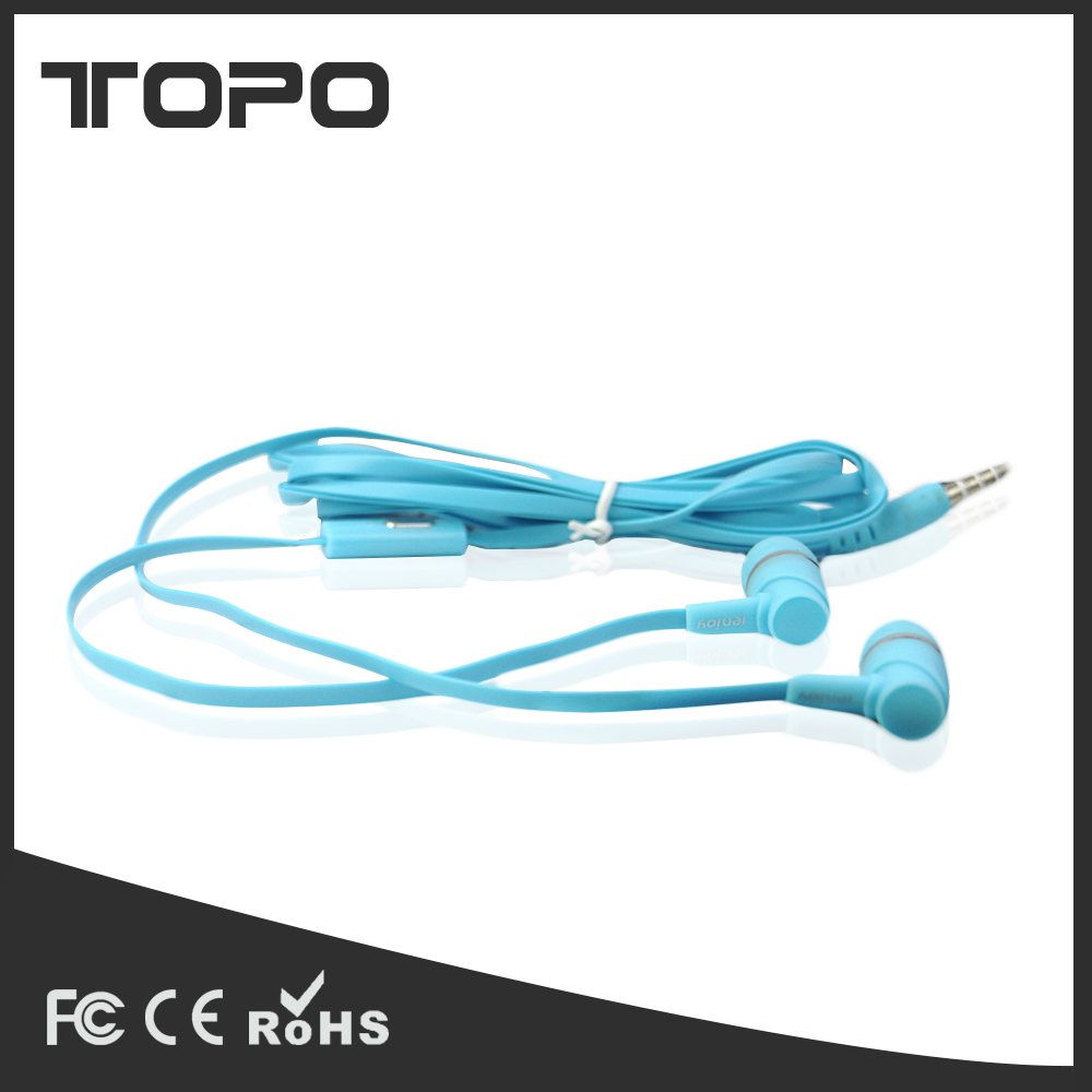 Hot selling wired headphone noise cancelling earbuds earphone for phone earphone and headset parts