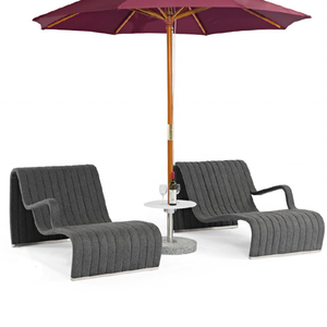 Modern Design Foldable Outdoor Beach Aluminum Sun Lounger