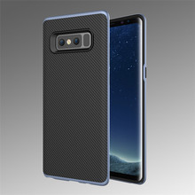 No MOQ limit PC silicone soft mobile phone armor case for Samsung Galaxy Note 8