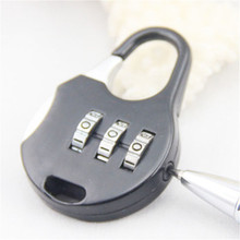 Travel Accessories 3 Digit Combination Password Luggage Code Lock Mini Suitcase Lock For Travel/lock for suitcase