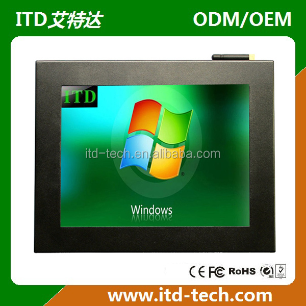 "12"" TFT LCD all in one android monitor"
